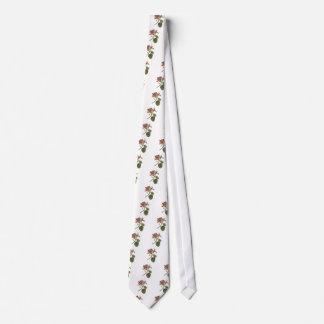 Vintage Passion Flower Tie