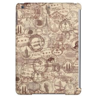 Vintage Passport Stamps iPad Case