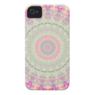 Vintage Pastel Mandala Kaleidoscope Pattern Case-Mate iPhone 4 Cases