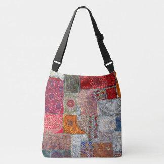 Vintage Patchwork Design. Tote Bag