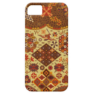 Vintage Patchwork Floral - In Autumn Colors iPhone 5 Case
