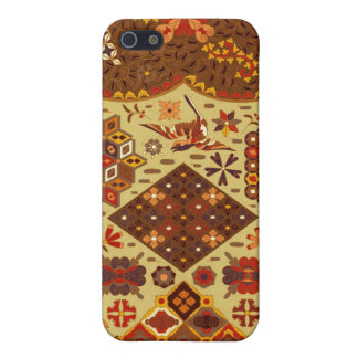 Vintage Patchwork Floral - In Autumn Colors iPhone 5/5S Cover