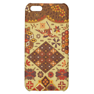 Vintage Patchwork Floral - In Autumn Colors Cover For iPhone 5C