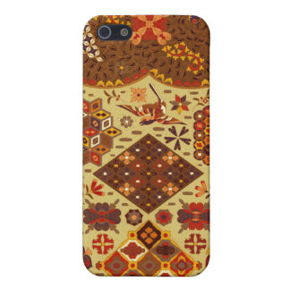Vintage Patchwork Floral - In Autumn Colors Case For iPhone 5