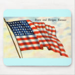 Vintage Patriotic 4th of July Mouse Mats
