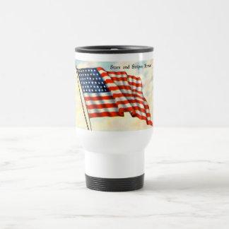 Vintage Patriotic 4th of July Coffee Mugs