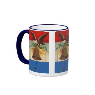 Vintage Patriotic 4th of July Coffee Mug
