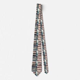 Vintage Patriotic American Liberty Tie
