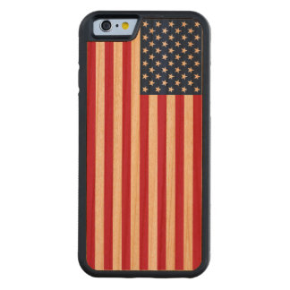 Vintage Patriotic American USA Flag iPhone 6 Case Cherry iPhone 6 Bumper
