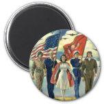Vintage Patriotic, Military Personnel