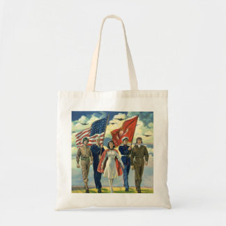 Vintage Patriotic, Proud Military Personnel Heros