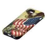 Vintage Patriotism, Patriotic Eagle American Flag iPhone 5 Case