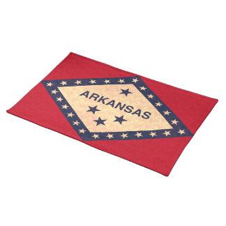 Vintage Pattern Arkansan Flag Placemats
