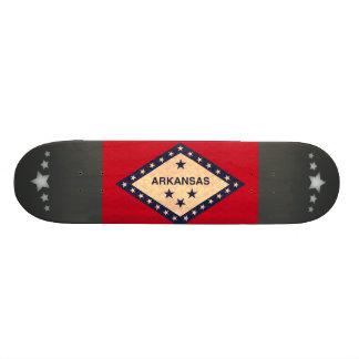 Vintage Pattern Arkansan Flag Custom Skate Board