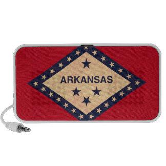 Vintage Pattern Arkansan Flag Travel Speaker
