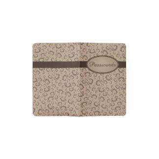 Vintage Pattern Customizable Pocket Notebook