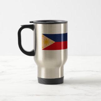 Vintage Pattern Filipino Flag Coffee Mugs