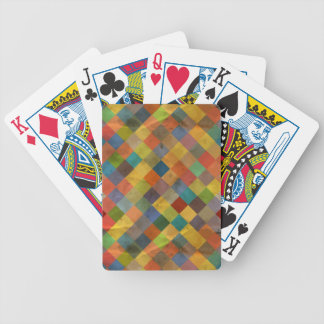 Vintage pattern. Geometric. Bicycle Playing Cards