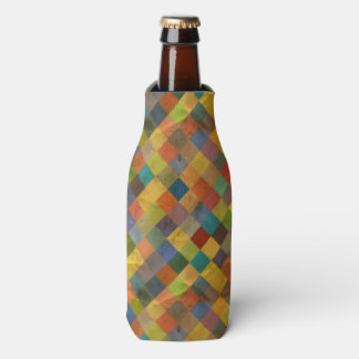 Vintage pattern. Geometric. Bottle Cooler