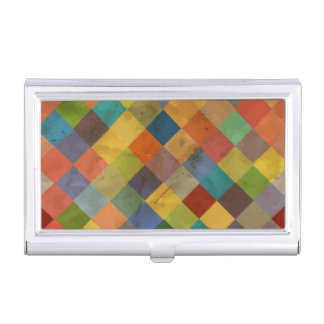 Vintage pattern. Geometric. Business Card Cases