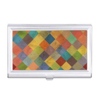 Vintage pattern. Geometric. Business Card Holder