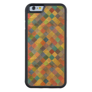 Vintage pattern. Geometric. Carved Maple iPhone 6 Bumper Case