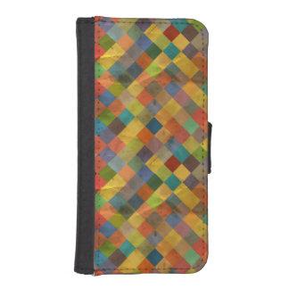 Vintage pattern. Geometric. iPhone SE/5/5s Wallet Case