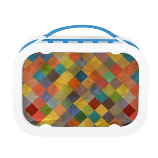 Vintage pattern. Geometric. Lunch Box