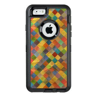 Vintage pattern. Geometric. OtterBox Defender iPhone Case