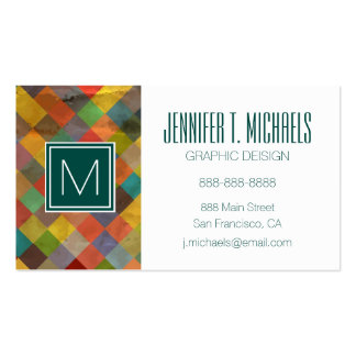 Vintage pattern. Geometric. Pack Of Standard Business Cards