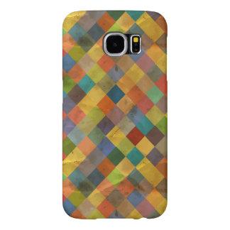 Vintage pattern. Geometric. Samsung Galaxy S6 Cases