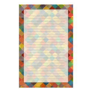 Vintage pattern. Geometric. Stationery