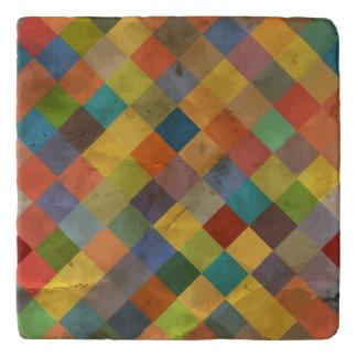 Vintage pattern. Geometric. Trivet
