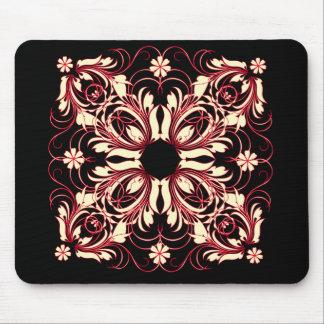 vintage pattern mouse mats