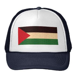 Vintage Pattern Palestinian Flag Trucker Hat