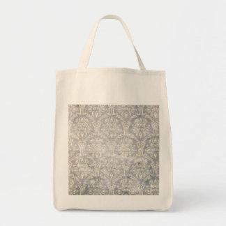 Vintage pattern - Picture 10 (Black & white) Canvas Bags
