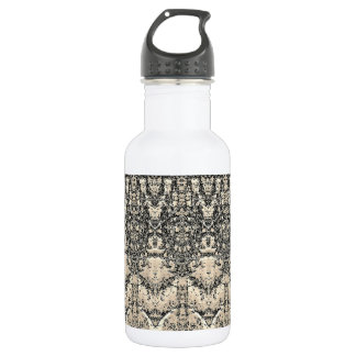 Vintage Pattern Water Bottle 532 Ml Water Bottle