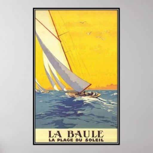 Vintage Pays de la Loire , La Baule, France - Posters