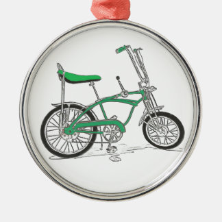 Vintage Pea Picker Green Sting Ray Bike Bicycle Christmas Ornament