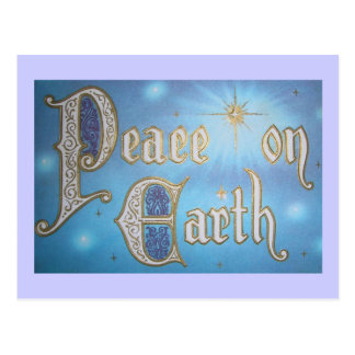 Vintage Peace on Earth Postcard