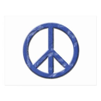 Vintage Peace Sign Postcard