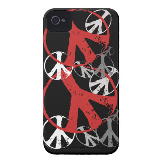 Vintage Peace Symbols Blackberry Cases