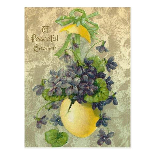 Vintage Peaceful Easter Post Cards