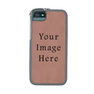 Vintage Peach Pink Red Parchment Paper Background iPhone 5 Cases