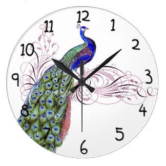 Vintage Peacock Clocks