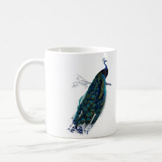 Vintage Peacock Coffee Mug