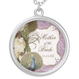 Vintage Peacock & Etchings Mother of the Bride Necklaces