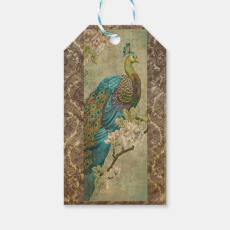 Vintage Peacock Gift Tags