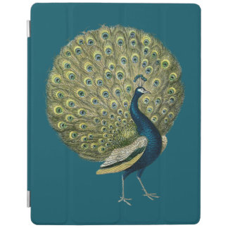Vintage Peacock iPad Cover