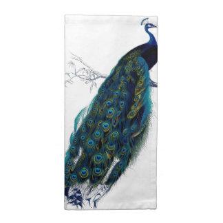 Vintage Peacock Napkin
